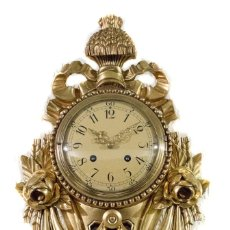 Relojes de pared: ESPECTACULAR RELOJ DE PARED ,DE ORIGEN SUECO,CUERDA MANUAL Y FUNCIONANDO.. Lote 174207305