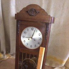 Relojes de pared: ANTIGUO RELOJ DE GRANDES DIMENSIONES!. Lote 174407884