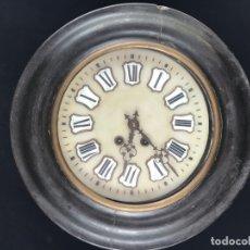 Relojes de pared: ANTIGUO RELOJ DE PARED ESTILO ISABELINO OJO DE BUEY - SIGLO XIX-XX. Lote 175045223