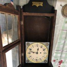 Relojes de pared: RELOJ PARED CARGA MANUAL. Lote 175086838