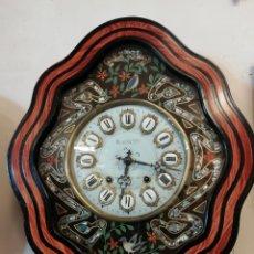 Relojes de pared: RELOJ DE PAREZ MOREZ, S XIX, FUNCIONANDO. Lote 109105802