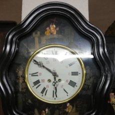 Relojes de pared: RELOJ OJO BUEY PINTADO. Lote 175132649