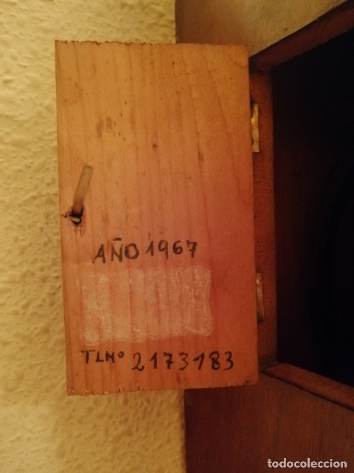 Relojes de pared: ANTIGUO RELOJ RATERA SELVA NEGRA SIGLO XIX. MECÁNICO Y FUNCIONANDO. - Foto 6 - 175349069