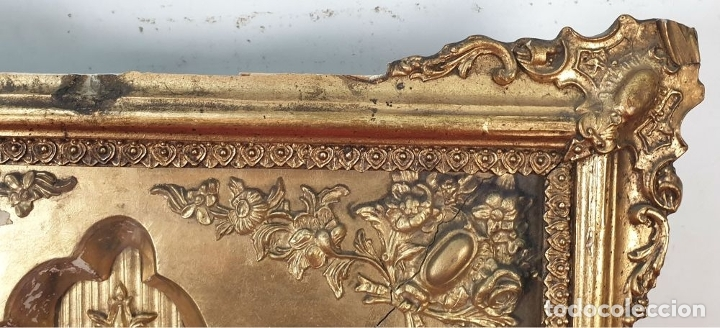 Relojes de pared: RELOJ DE PARED. ESTILO SEGUNDO IMPERIO. MAQUINARIA PARÍS. SIGLO XIX. - Foto 3 - 175479528