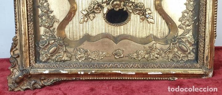 Relojes de pared: RELOJ DE PARED. ESTILO SEGUNDO IMPERIO. MAQUINARIA PARÍS. SIGLO XIX. - Foto 5 - 175479528