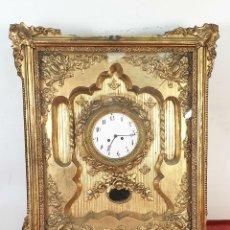 Relojes de pared: RELOJ DE PARED. ESTILO SEGUNDO IMPERIO. MAQUINARIA PARÍS. SIGLO XIX.. Lote 175479528