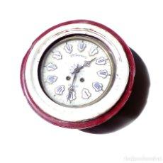Relojes de pared: RELOJ DE PAREZ VDA. SANDOZ. GRANADA. RARO. ESFERA 24 CM. CAJA 38 CM.. Lote 175674913