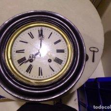Relojes de pared: RELOJ OJO DE BUEY FUNCIONANDO. Lote 175838408