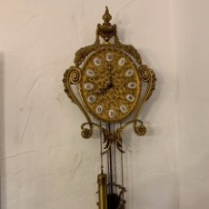 Relojes de pared: RELOJ DE PARED SOHER EN BRONCE. Lote 175862472