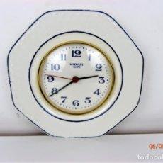 Relojes de pared: BONITO PLATO RELOJ DE CERÁMICA RADIANT. Lote 161476834