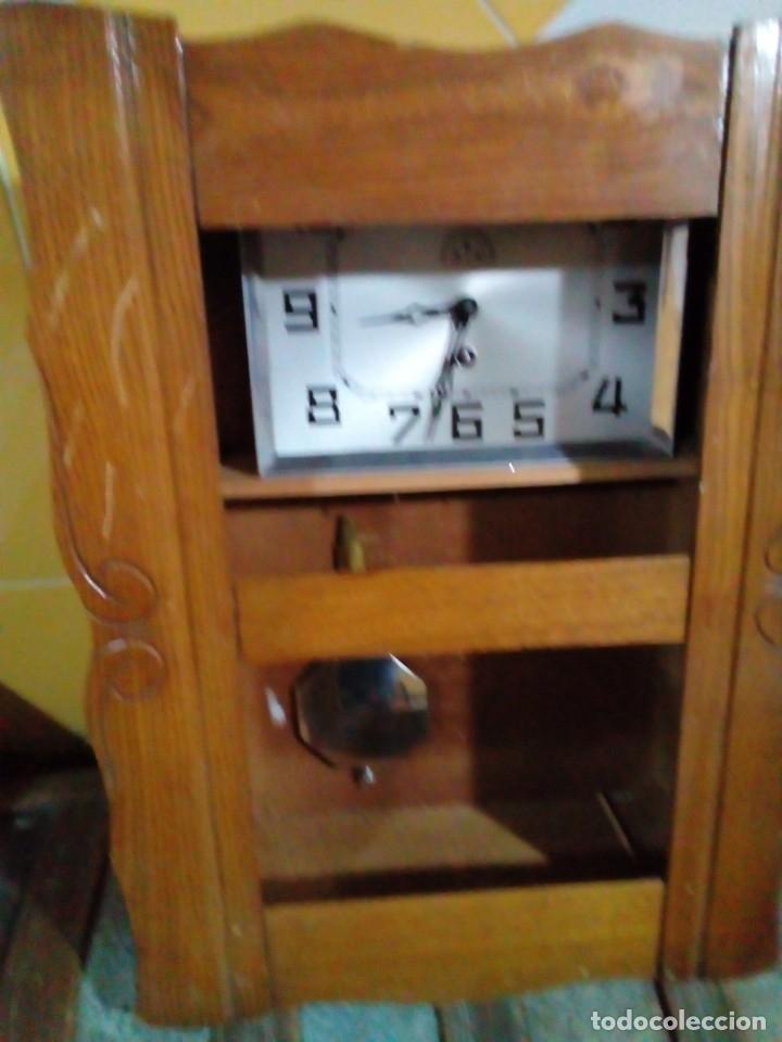 Relojes de pared: ANTIGUO RELOJ DE PARED - Foto 2 - 130998836