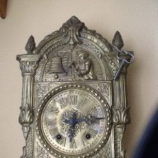 Relojes de pared: ¡¡GRAN OFERTA!!! RARISIMO RELOJ MOREZ CON AUTOMATA- AÑO 1880- RELOJ MAQUINARIA CON MECANISMO AUTOMA. Lote 176573543