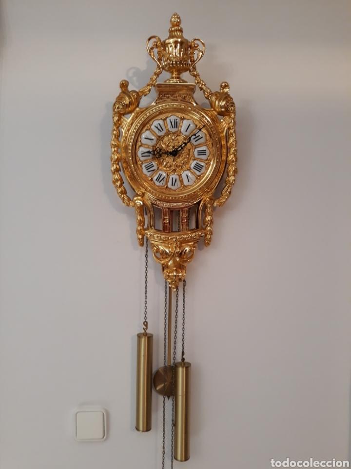 ESPECTACULAR RELOJ SOHER DE PARED. (Relojes - Pared Carga Manual)