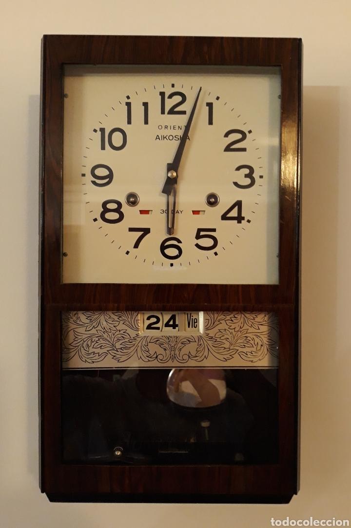 RELOJ DE PARED ORIENT. (Relojes - Pared Carga Manual)