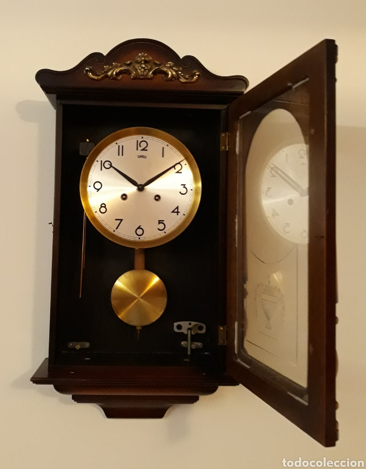 Relojes de pared: Antiguo reloj de pared SARS - Foto 2 - 176934667