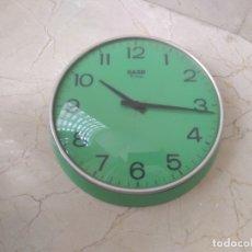 Relojes de pared: MAGNIFICO ANTIGUO RELOJ SARS A CUERDA. FUNCIONA PERFECTAMENTE. Lote 177037874