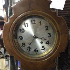Relojes de pared: ANTIGUO RELOJ OJO DE BUEY. ART DÉCO. AÑOS 30. FUNCIONA PERFECTAMENTE.. Lote 177412015