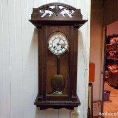 Relojes de pared: BUEN RELOJ ALFONSINO MODERNISTA FUNCIONANDO BUEN ESTADO. Lote 177498674