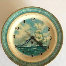 Relojes de pared: ANTIGUO RELOJ DE PARED A CUERDA - SMITHS - INGLES. Lote 177506639