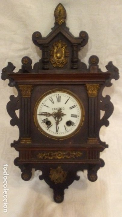 RELOJ DE PENDULO (Relojes - Pared Carga Manual)