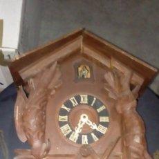 Relojes de pared: ANTIGUO RELOJ DE CUCO PARA RESTAURAR. Lote 177842109