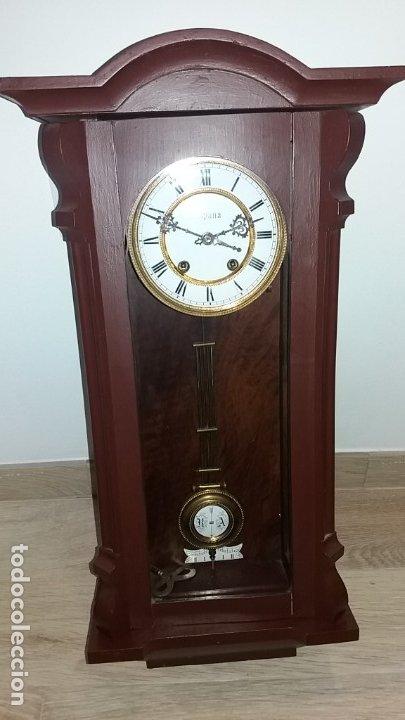 RELOJ PARED CON SONERIA CERCA 1900 PRECIOSO (Relojes - Pared Carga Manual)