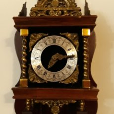 Relojes de pared: ANTIGUO RELOJ DE PARED HOLANDÉS.. Lote 178192421