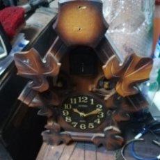 Relojes de pared: RELOJ RHYTHM CUCO. A PILAS QUARTZ. SIN PESAS. Lote 178384330