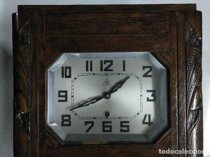 Relojes de pared: Reloj antiguo de pared de madera - Foto 5 - 178404040