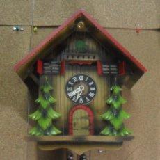 Relojes de pared: RELOJ MECANICO DE CUCO ALEMAN. Lote 178446006