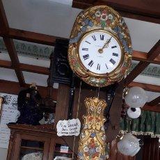 Relojes de pared: ANTIGUO RELOJ MOREZ PENDULO REAL ,FUNCIONANDO. Lote 178747891