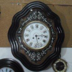 Relojes de pared: RELOJ OJO DE BUEY GRANDE SIGLO XIX * FUNCIONA. Lote 178800738