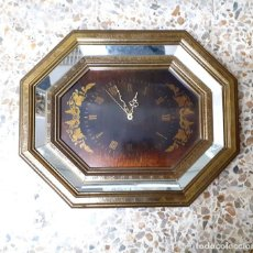 Relojes de pared: RELOJ DE PARED - VINTAGE - QUARTZ. Lote 179036497