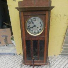 Relojes de pared: ANTIGUO RELOJ DE PARED. Lote 179082497