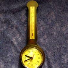 Relojes de pared: RELOJ, TERMÓMETRO E HIGRÓMETRO ELECTRÓNICO DE LA MARCA ALEMANA KIENZLE.. Lote 179134667