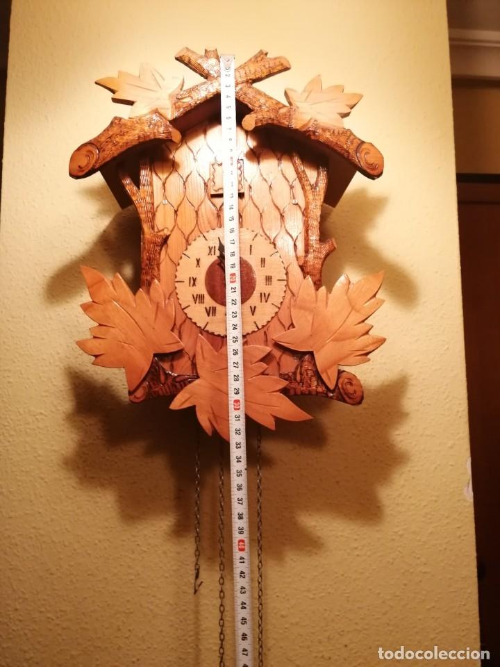 Relojes de pared: RELOJ CUCU-CUCO.HECHO EN LA ANTIGUA UNIÓN SOVIÉTICA (CCCP). MECÁNICO. - Foto 2 - 179336665