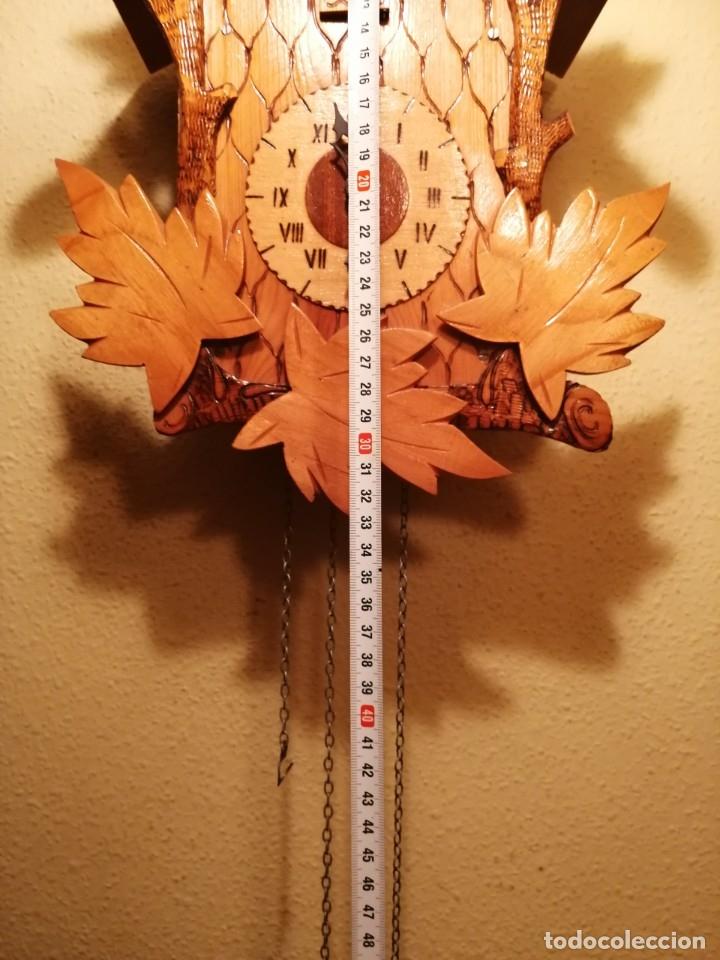Relojes de pared: RELOJ CUCU-CUCO.HECHO EN LA ANTIGUA UNIÓN SOVIÉTICA (CCCP). MECÁNICO. - Foto 3 - 179336665