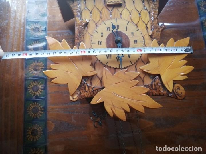 Relojes de pared: RELOJ CUCU-CUCO.HECHO EN LA ANTIGUA UNIÓN SOVIÉTICA (CCCP). MECÁNICO. - Foto 7 - 179336665