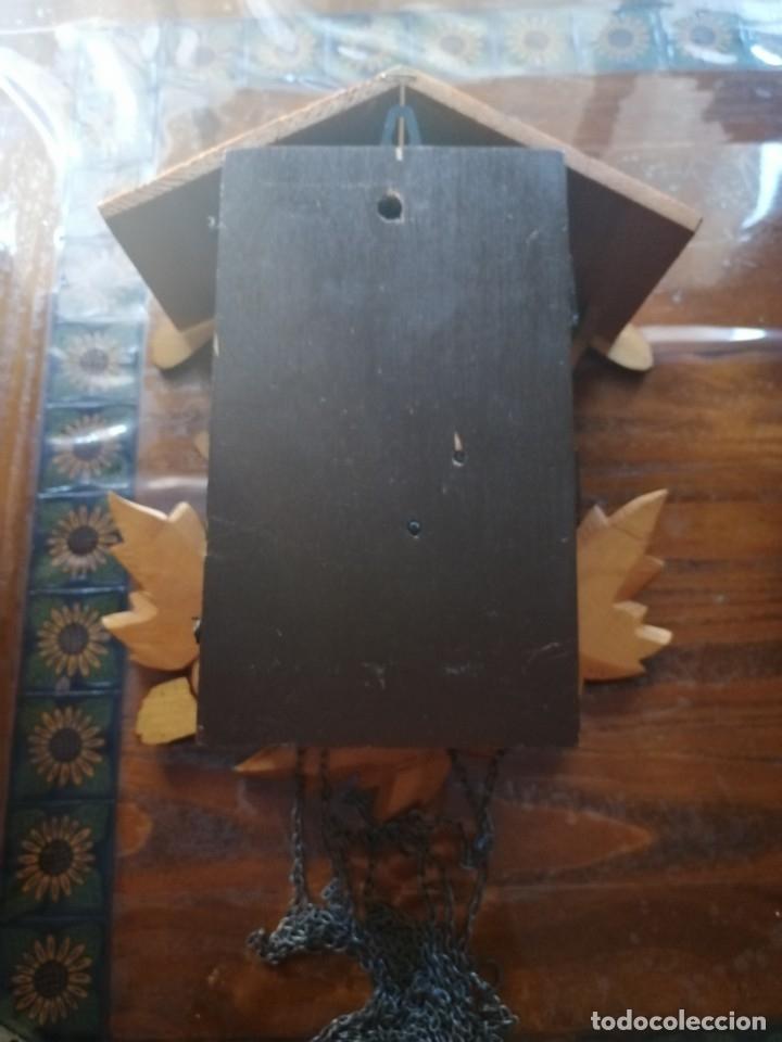 Relojes de pared: RELOJ CUCU-CUCO.HECHO EN LA ANTIGUA UNIÓN SOVIÉTICA (CCCP). MECÁNICO. - Foto 11 - 179336665