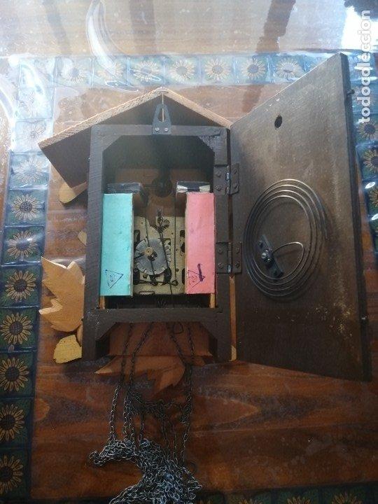 Relojes de pared: RELOJ CUCU-CUCO.HECHO EN LA ANTIGUA UNIÓN SOVIÉTICA (CCCP). MECÁNICO. - Foto 12 - 179336665