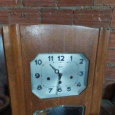 Relojes de pared: ANTIGUO RELOJ CARRILLÓN WESTMINSTER SONERIA A CUARTOS. Lote 179375707