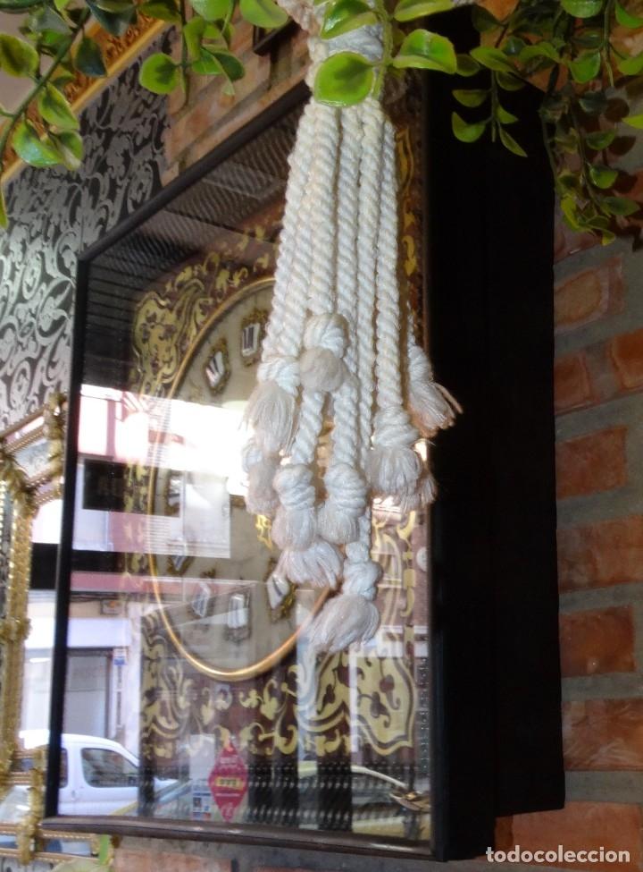 Relojes de pared: RELOJ NAPOLEÓN III BULLE SIGLO XIX INCRUSTACIONES DE NACAR Y BRONCES AL FUEGO DORADO. - Foto 9 - 180017312