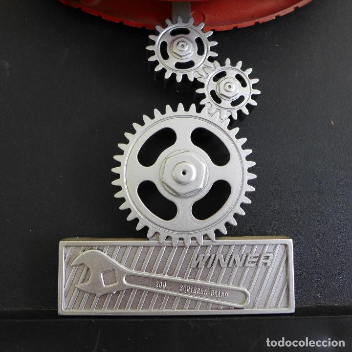 Relojes de pared: RELOJ DE PARED ELEGANCE FORMA DE NEUMATICO IDEAL DECORACION TALLER AUTOMOVIL O MOTOS - Foto 3 - 180040677