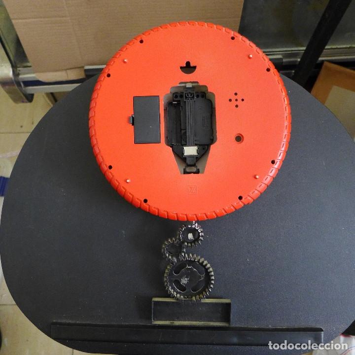 Relojes de pared: RELOJ DE PARED ELEGANCE FORMA DE NEUMATICO IDEAL DECORACION TALLER AUTOMOVIL O MOTOS - Foto 4 - 180040677