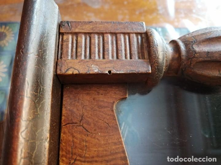 Relojes de pared: ANTIGUO RELOJ DE PARED CON ALARMA-DESPERTADOR. MECÁNICO Y FUNCIONANDO. - Foto 16 - 180139091