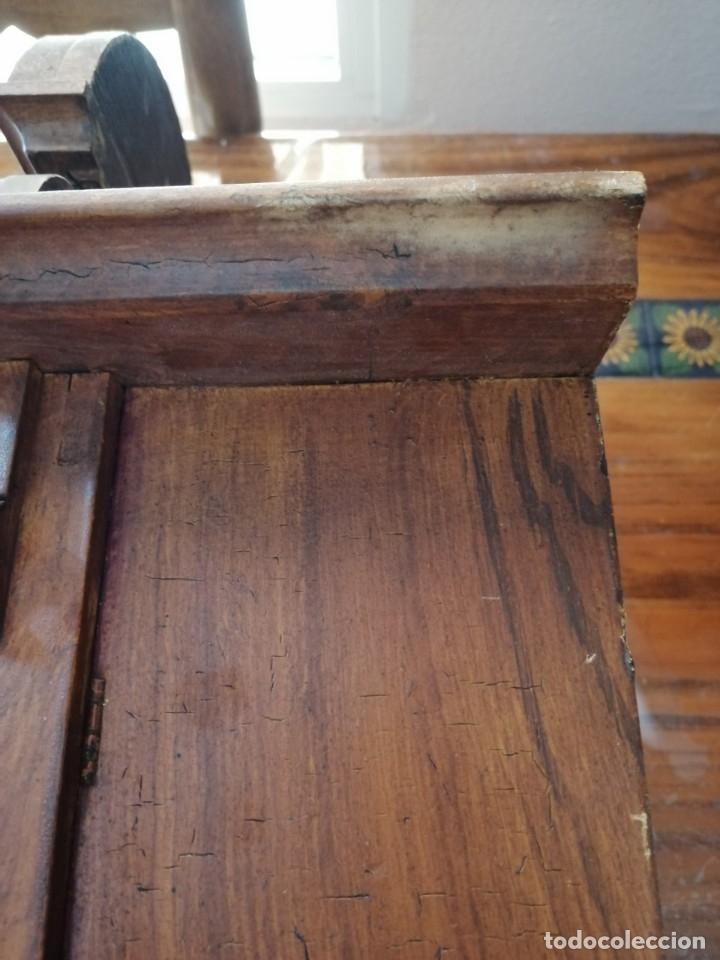 Relojes de pared: ANTIGUO RELOJ DE PARED CON ALARMA-DESPERTADOR. MECÁNICO Y FUNCIONANDO. - Foto 19 - 180139091