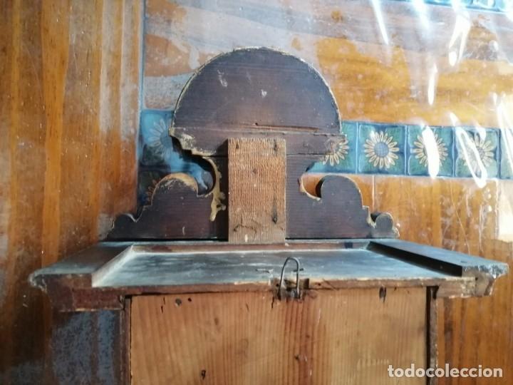 Relojes de pared: ANTIGUO RELOJ DE PARED CON ALARMA-DESPERTADOR. MECÁNICO Y FUNCIONANDO. - Foto 24 - 180139091