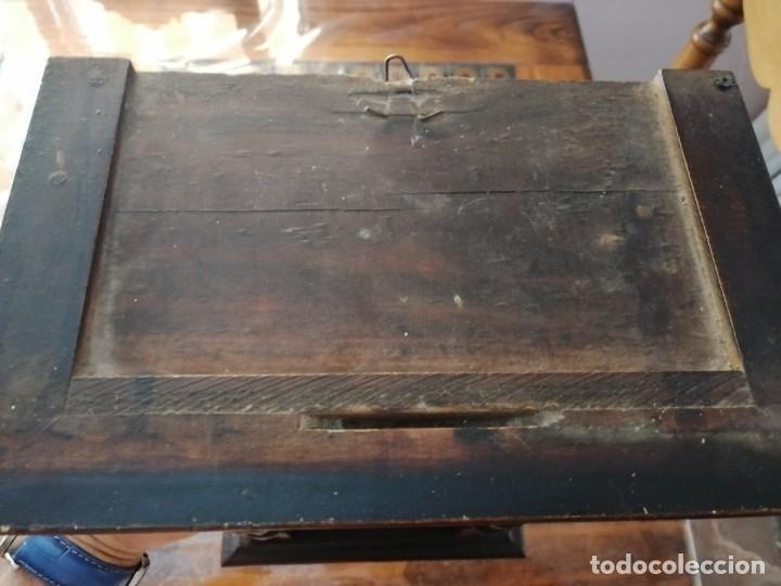 Relojes de pared: ANTIGUO RELOJ DE PARED CON ALARMA-DESPERTADOR. MECÁNICO Y FUNCIONANDO. - Foto 26 - 180139091