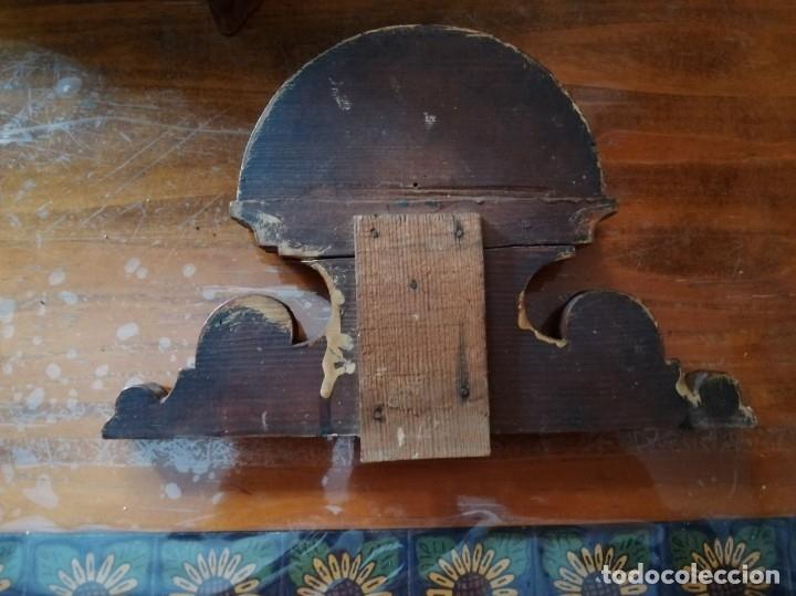 Relojes de pared: ANTIGUO RELOJ DE PARED CON ALARMA-DESPERTADOR. MECÁNICO Y FUNCIONANDO. - Foto 29 - 180139091
