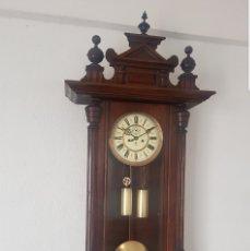 Relojes de pared: RELOJ ANTIGUO REGULADOR VIENES DE GUSTAV BECQUER BUEN ESTADO MUY DETALLADO FUNCIONA ALTA COLECCIÓN . Lote 180193206
